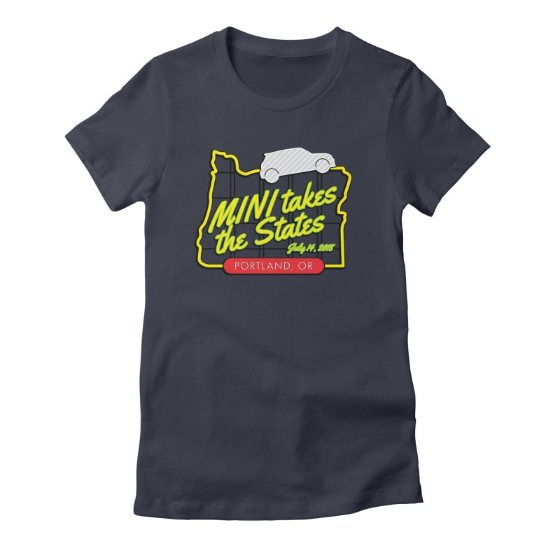 MTTS 2018 - Portland Women's Fitted T-Shirt by TwistyMini Motoring Shirts