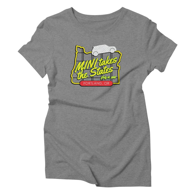 MTTS 2018 - Portland Women's Triblend T-Shirt by TwistyMini Motoring Shirts