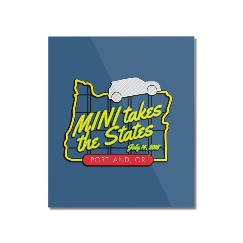 MTTS 2018 - Portland Home Mounted Acrylic Print by TwistyMini Motoring Shirts