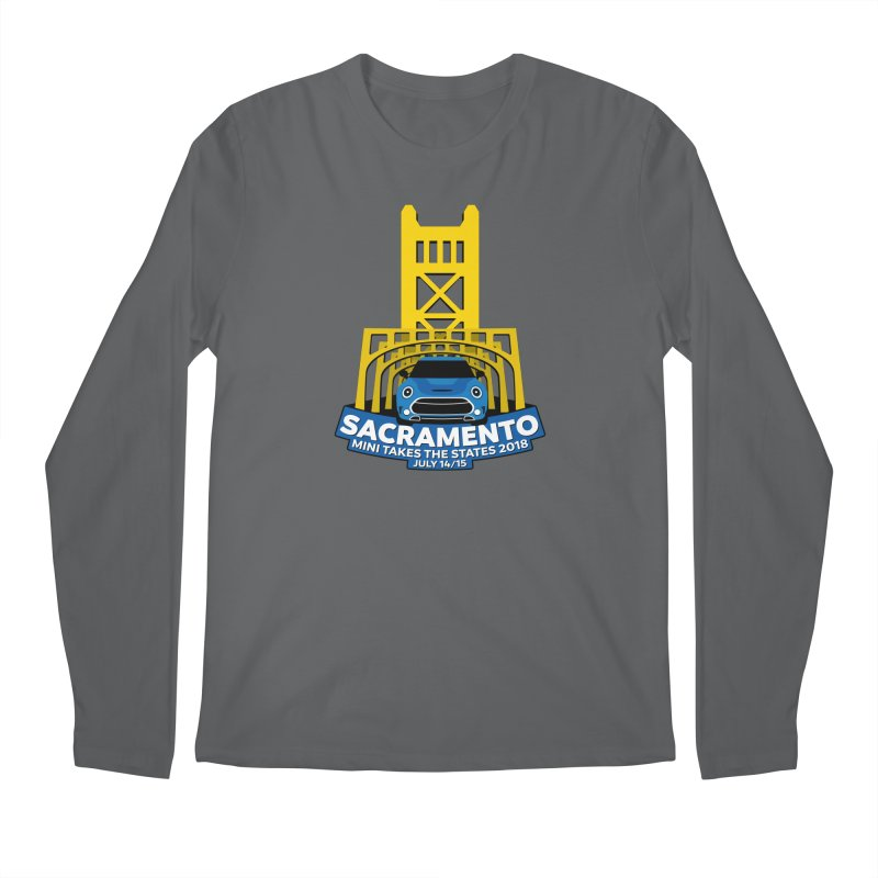 MTTS 2018 - Sacramento Men's Longsleeve T-Shirt by TwistyMini Motoring Shirts