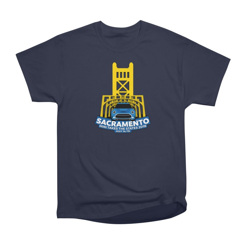 MTTS 2018 - Sacramento Men's Heavyweight T-Shirt by TwistyMini Motoring Shirts