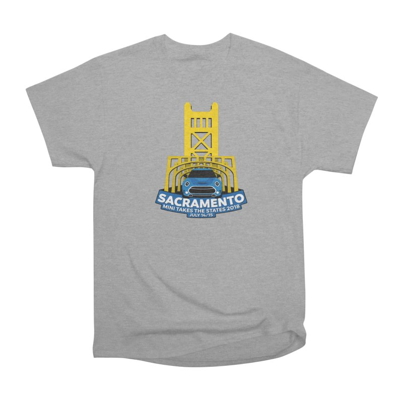 MTTS 2018 - Sacramento Women's Heavyweight Unisex T-Shirt by TwistyMini Motoring Shirts