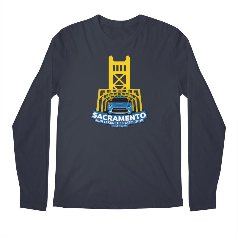 Sacramento - MTTS 2018 Men's Longsleeve T-Shirt by TwistyMini Motoring Shirts