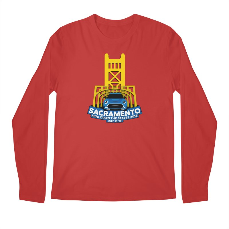 MTTS 2018 - Sacramento Men's Regular Longsleeve T-Shirt by TwistyMini Motoring Shirts