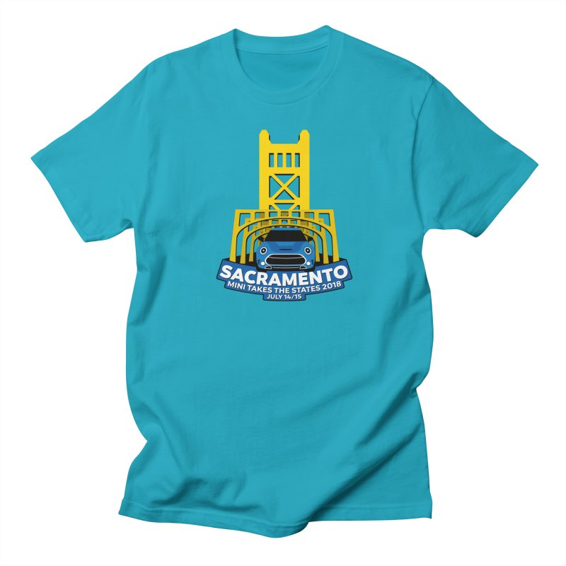MTTS 2018 - Sacramento Men's Regular T-Shirt by TwistyMini Motoring Shirts