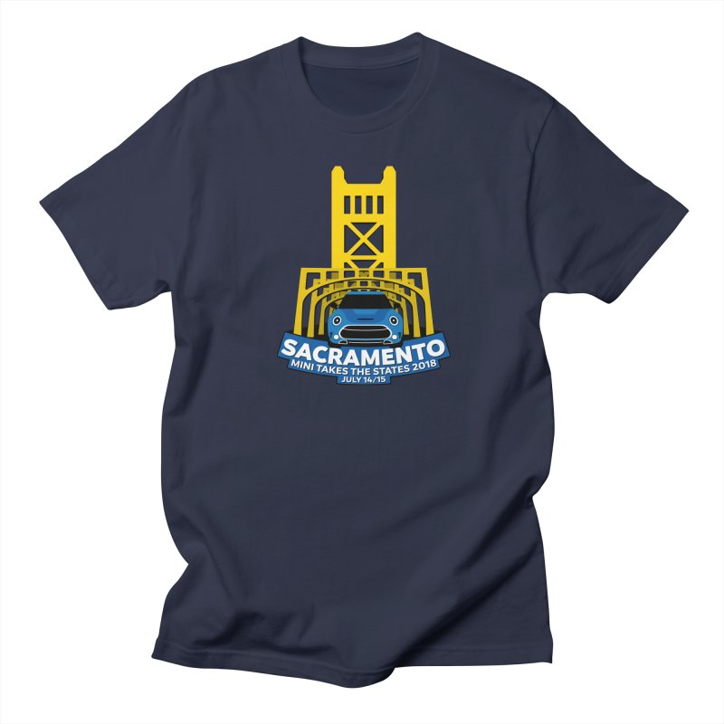 MTTS 2018 - Sacramento Men's Regular T-Shirt by TwistyMini Motoring Shirts
