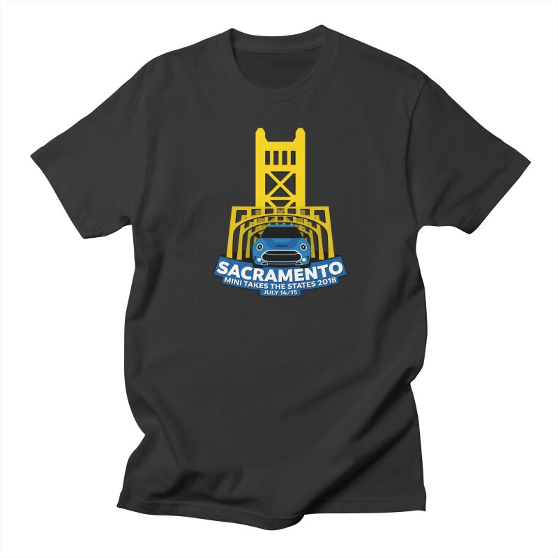 MTTS 2018 - Sacramento Men's T-Shirt by TwistyMini Motoring Shirts