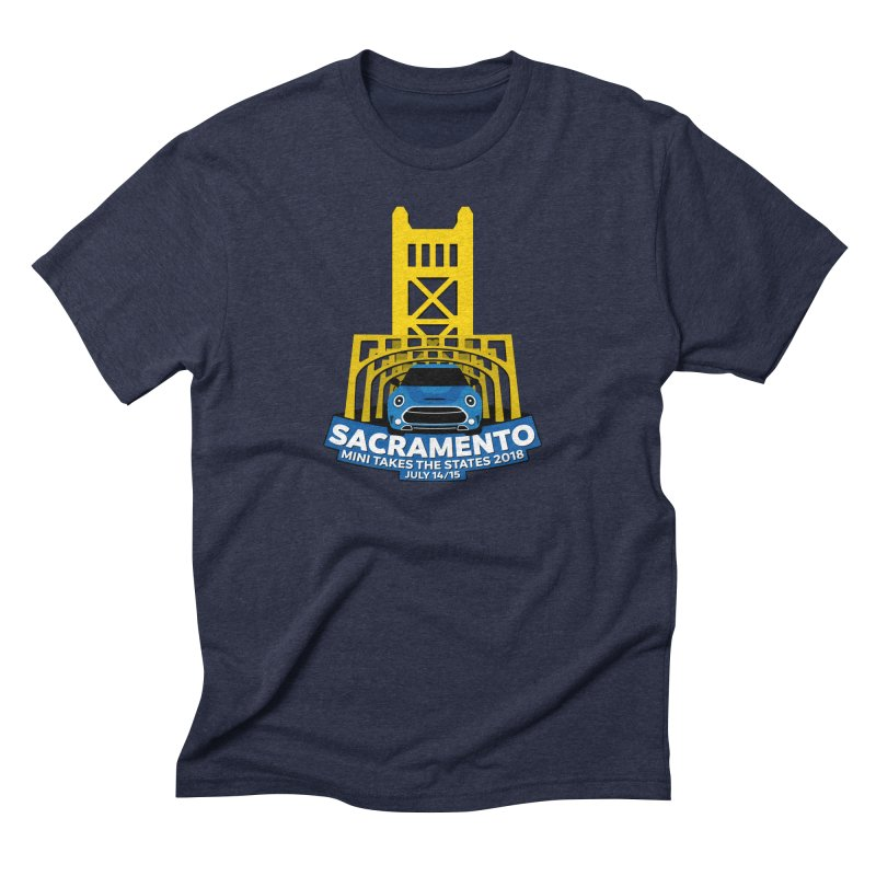 MTTS 2018 - Sacramento Men's Triblend T-Shirt by TwistyMini Motoring Shirts