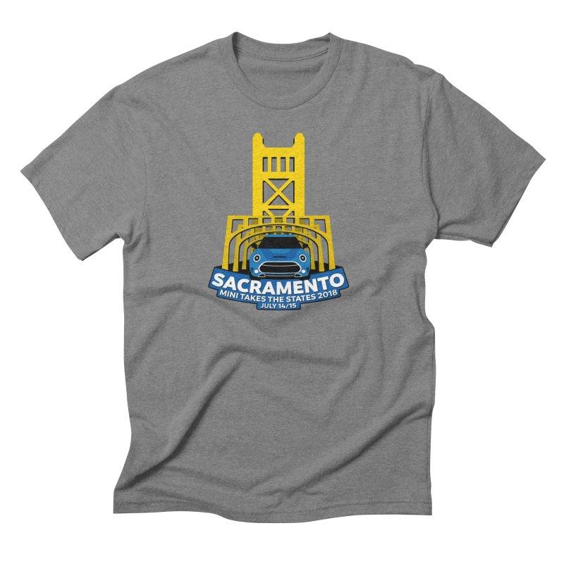 Sacramento - MTTS 2018 Men's Triblend T-Shirt by TwistyMini Motoring Shirts