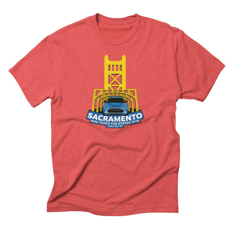 MTTS 2018 - Sacramento Men's Triblend T-Shirt by TwistyMini Motoring Shirts