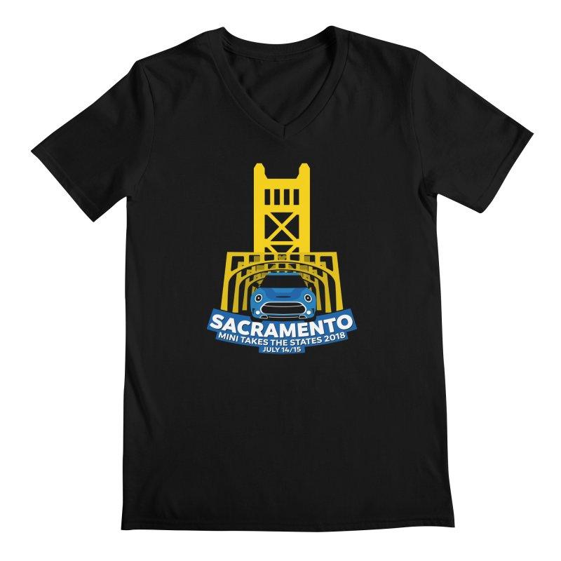 MTTS 2018 - Sacramento Men's Regular V-Neck by TwistyMini Motoring Shirts