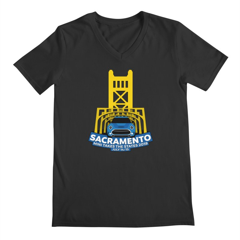 MTTS 2018 - Sacramento Men's V-Neck by TwistyMini Motoring Shirts