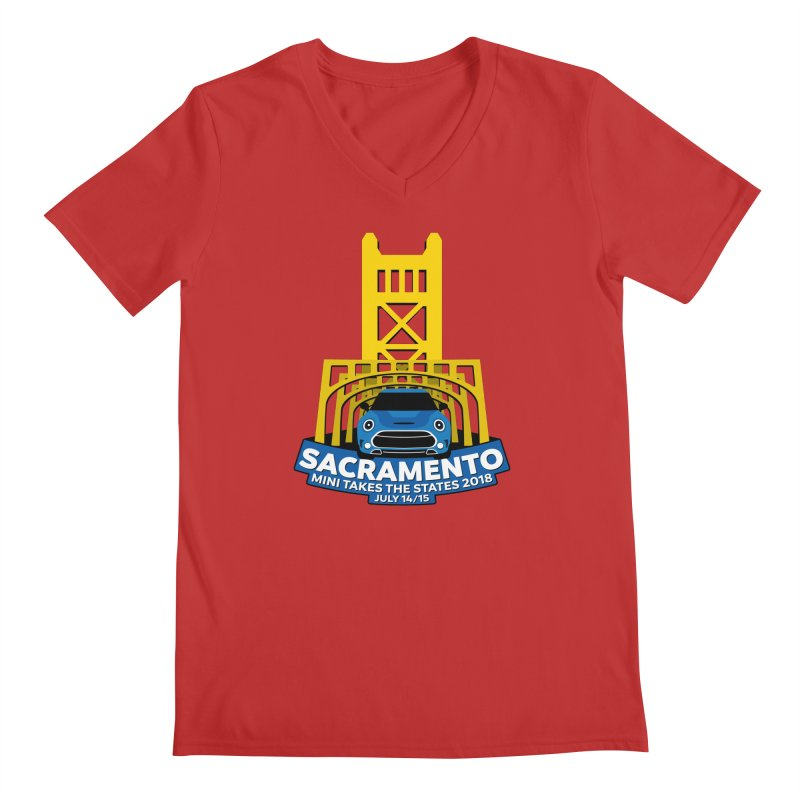 MTTS 2018 - Sacramento Men's Regular V-Neck by TwistyMini Motoring Shirts