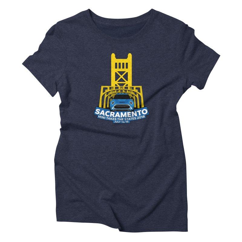 MTTS 2018 - Sacramento Women's T-Shirt by TwistyMini Motoring Shirts