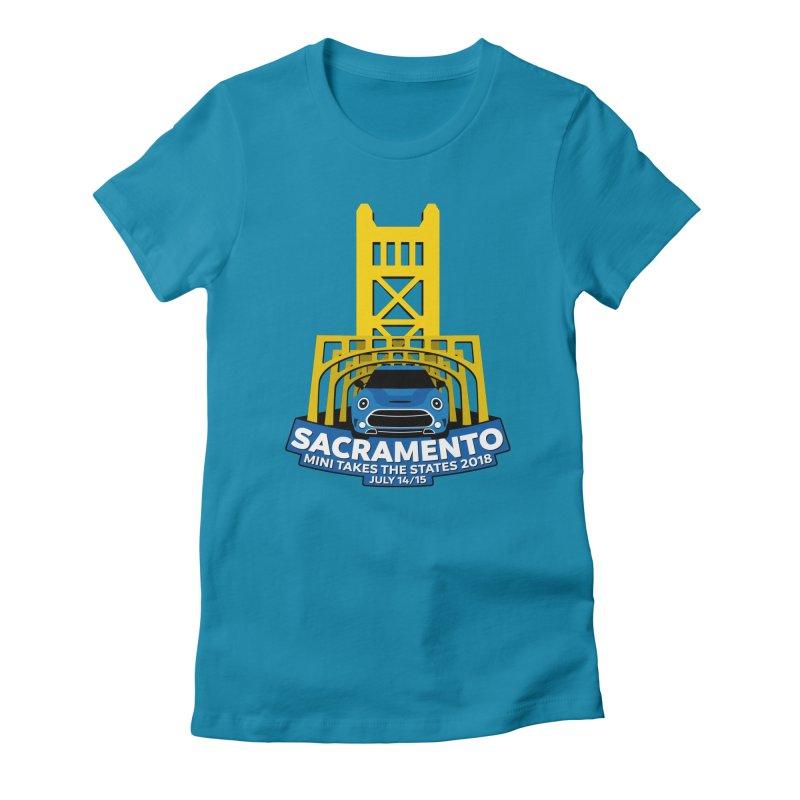MTTS 2018 - Sacramento Women's Fitted T-Shirt by TwistyMini Motoring Shirts