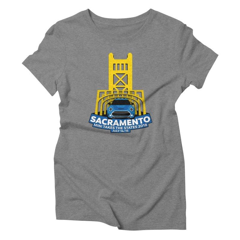 MTTS 2018 - Sacramento Women's Triblend T-Shirt by TwistyMini Motoring Shirts