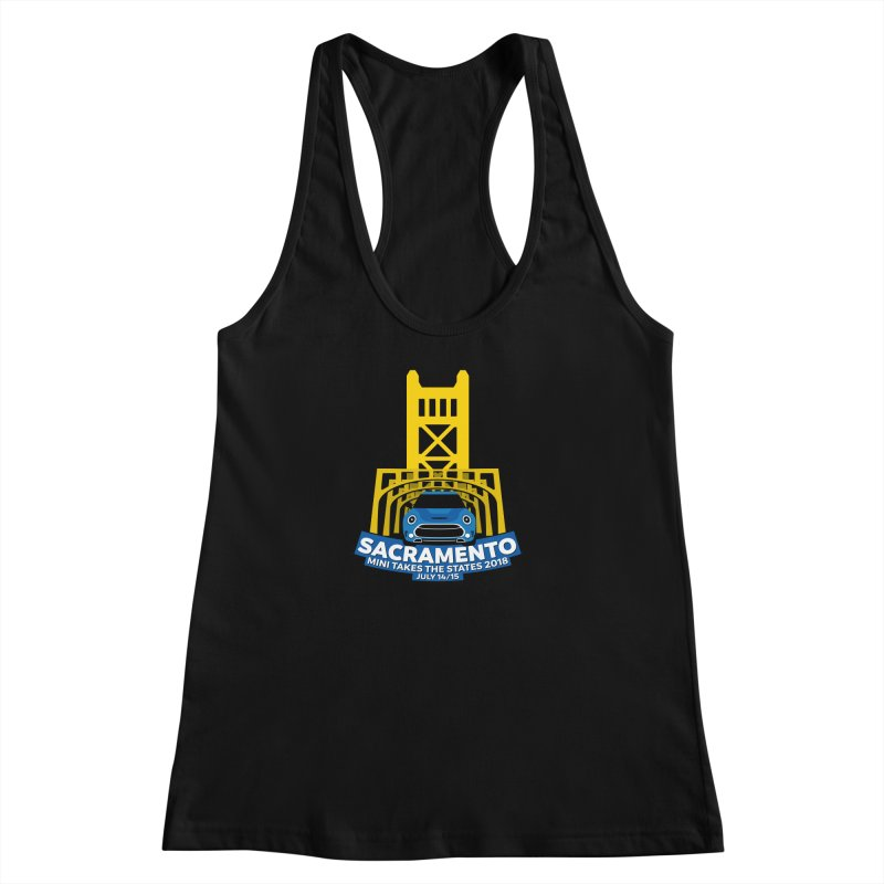 MTTS 2018 - Sacramento Women's Racerback Tank by TwistyMini Motoring Shirts