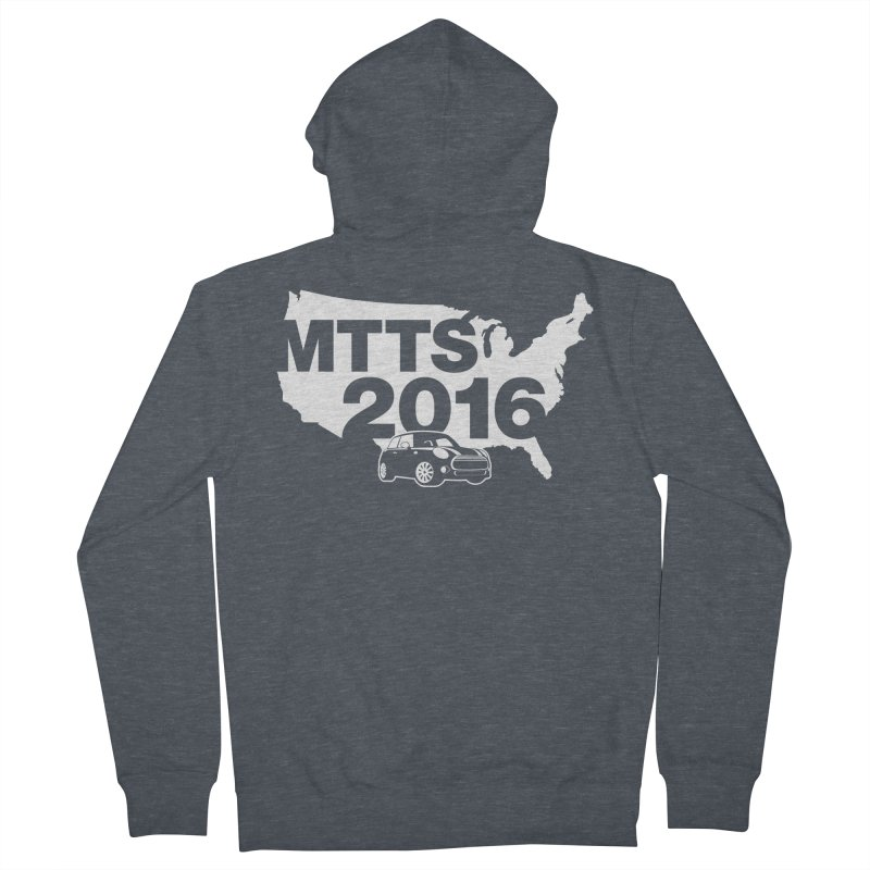 MTTS 2016 Women's French Terry Zip-Up Hoody by TwistyMini Motoring Shirts