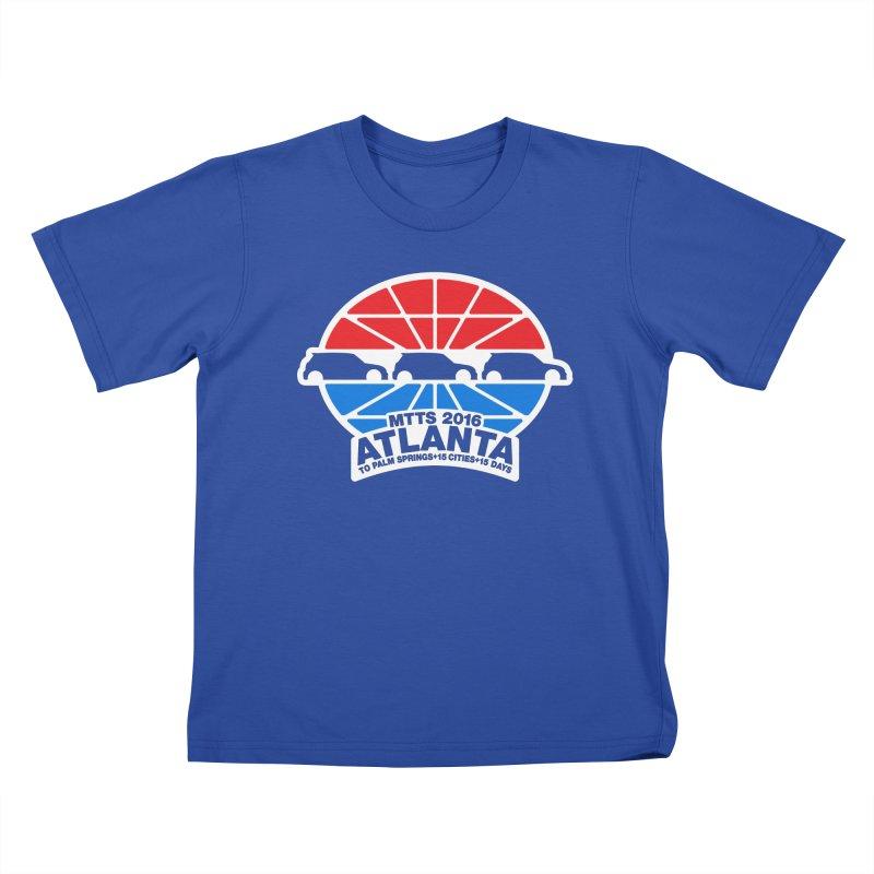Atlanta - MTTS2016 Kids T-Shirt by TwistyMini Motoring Shirts