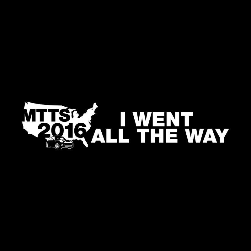 All the Way Men's T-Shirt by TwistyMini Motoring Shirts