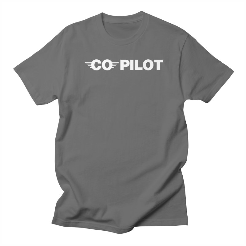 Co-Pilot Men's T-Shirt by TwistyMini Motoring Shirts