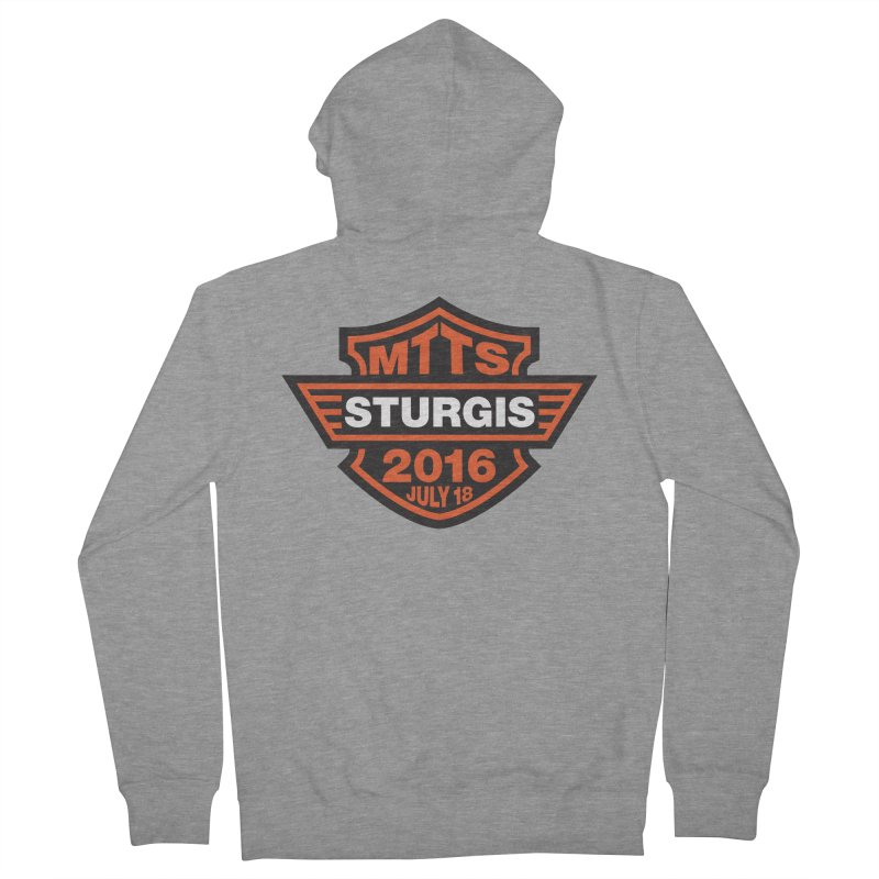 Sturgis – MTTS2016 Men's French Terry Zip-Up Hoody by TwistyMini Motoring Shirts