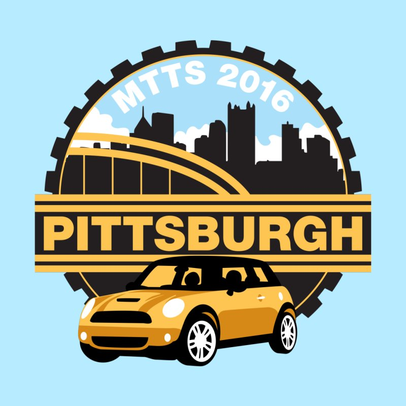 Pittsburgh – MTTS2016 by TwistyMini Motoring Shirts