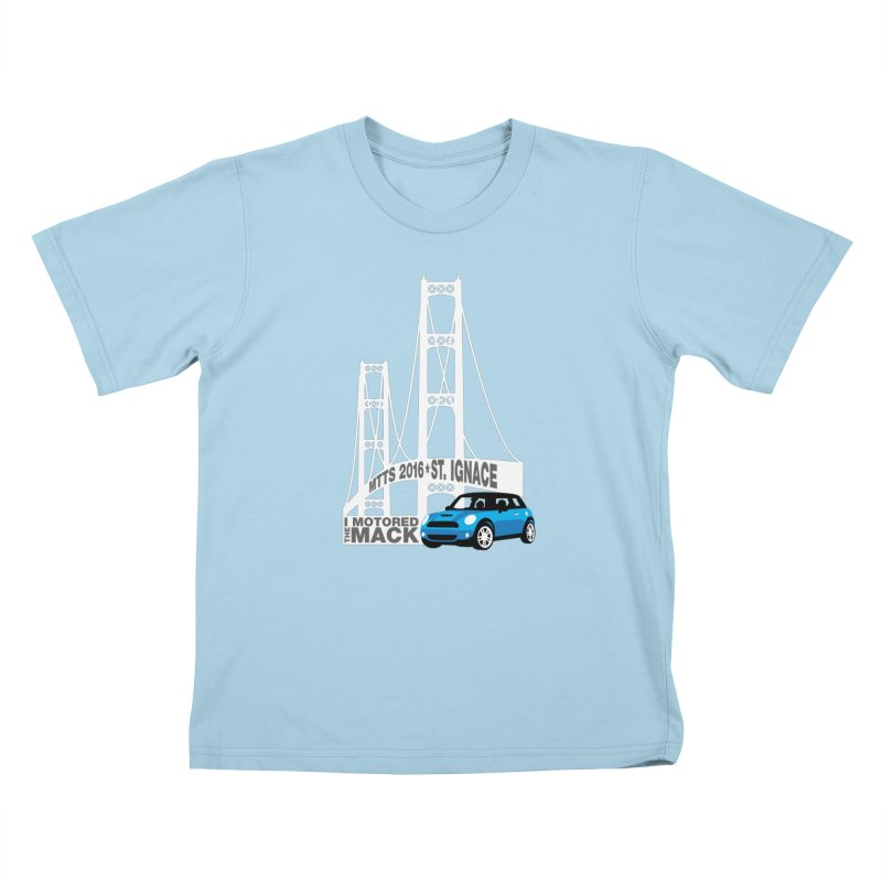 St. Ignace – Motor the Mack –MTTS 2016 Kids T-Shirt by TwistyMini Motoring Shirts