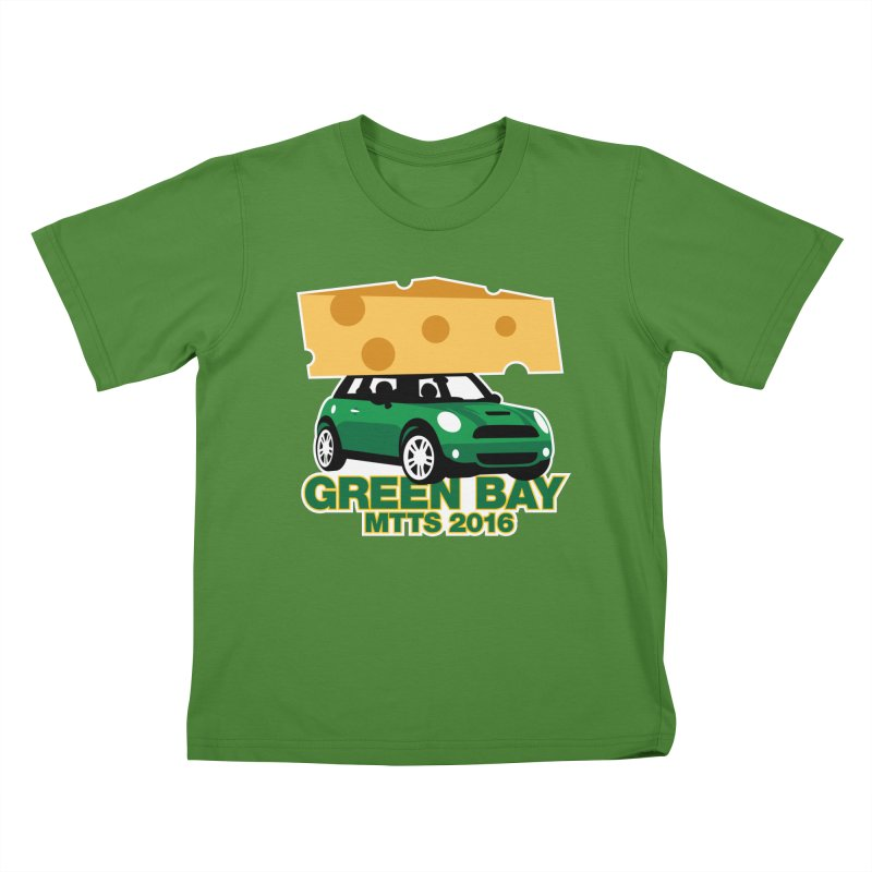 Green Bay – MTTS 2016 Kids T-Shirt by TwistyMini Motoring Shirts