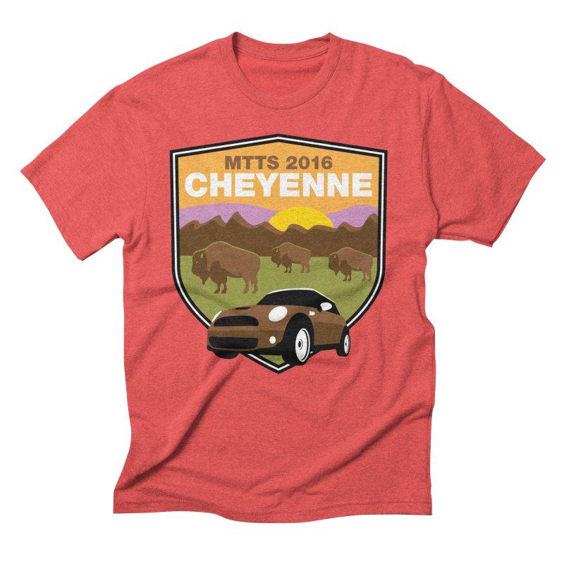 Cheyenne – MTTS 2016 Men's Triblend T-Shirt by TwistyMini Motoring Shirts