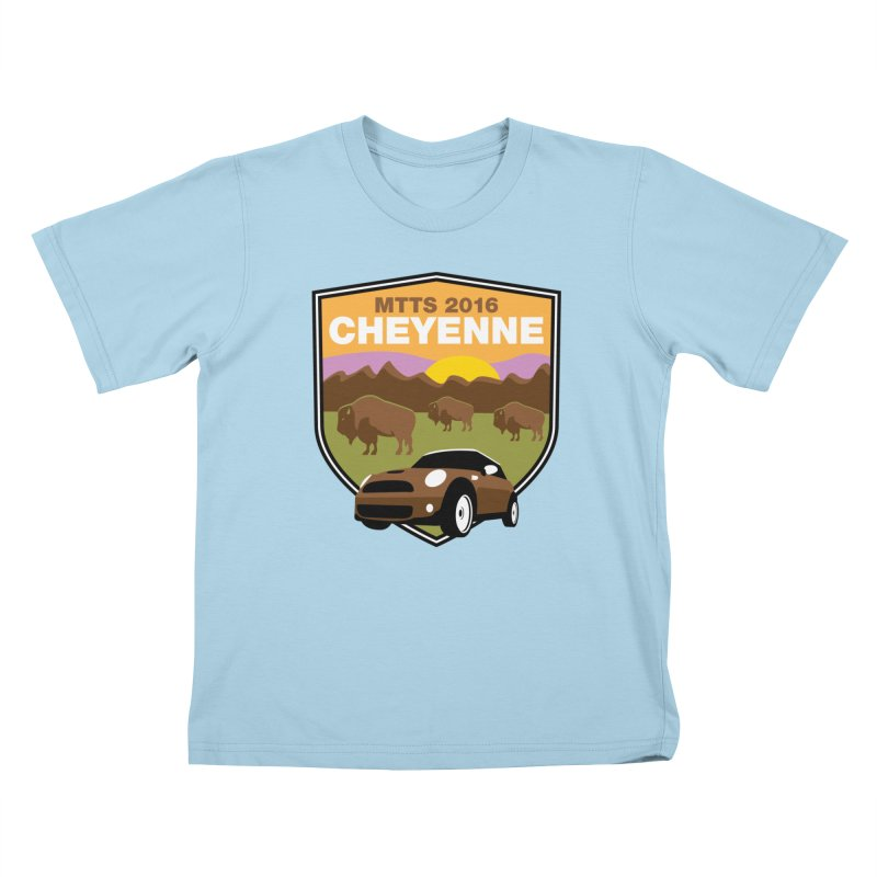 Cheyenne – MTTS 2016 Kids T-Shirt by TwistyMini Motoring Shirts