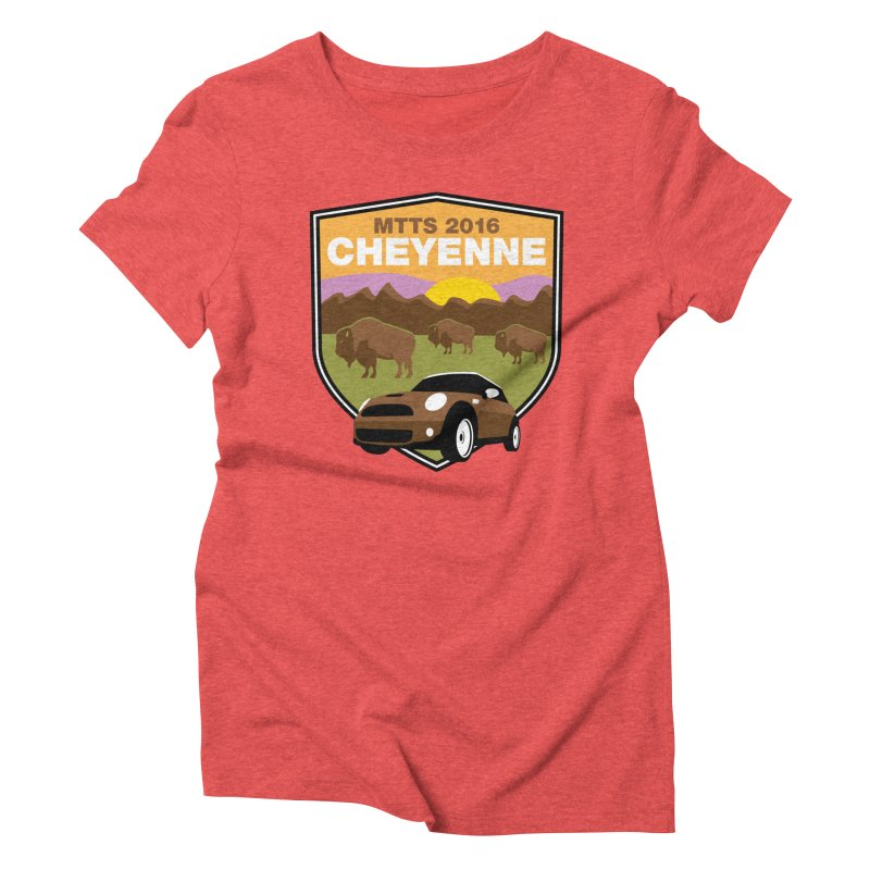 Cheyenne – MTTS 2016 Women's Triblend T-Shirt by TwistyMini Motoring Shirts