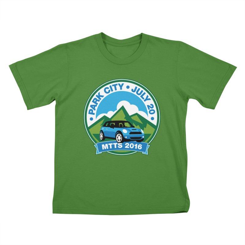 Park City – MTTS 2016 Kids T-Shirt by TwistyMini Motoring Shirts