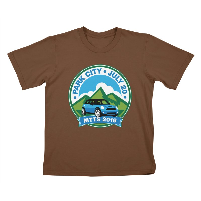 Park City – MTTS 2016 Kids T-Shirt by TwistyMini Motoring Shirts