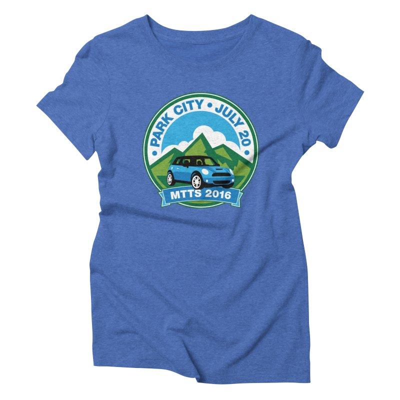 Park City – MTTS 2016 Women's Triblend T-Shirt by TwistyMini Motoring Shirts