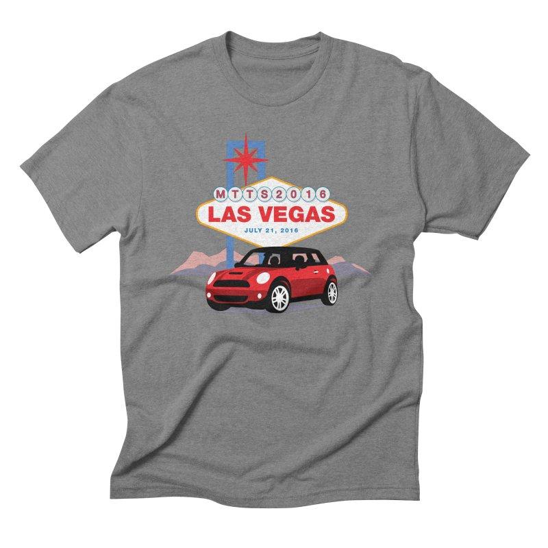 Las Vegas – MTTS 2016 Men's Triblend T-Shirt by TwistyMini Motoring Shirts