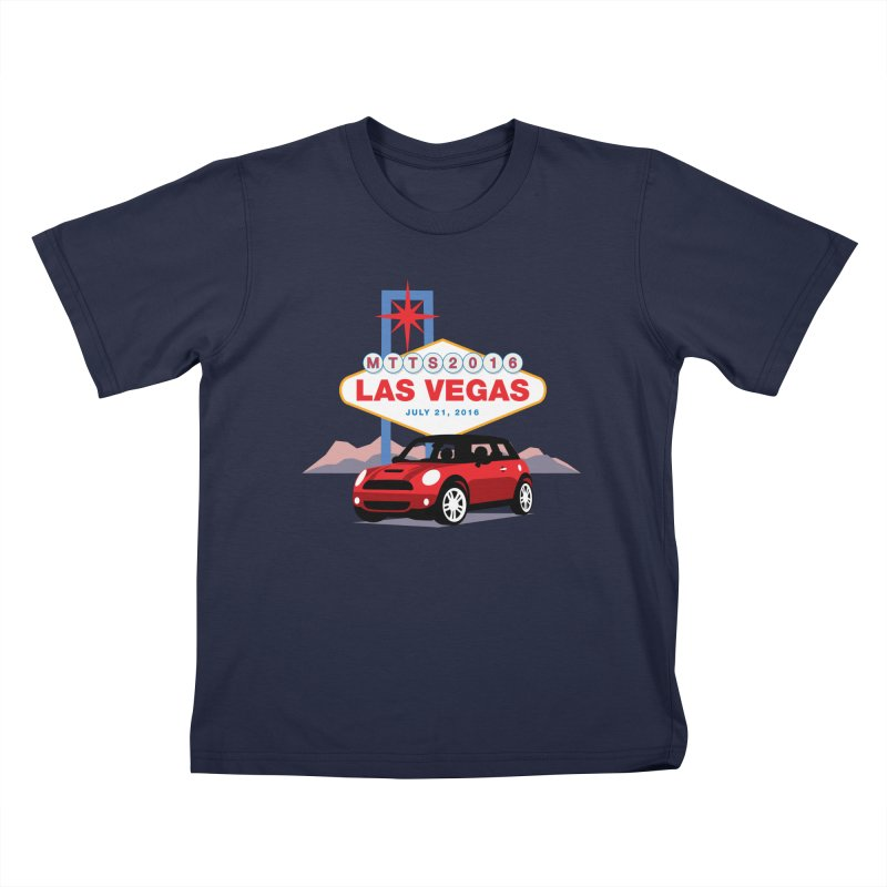 Las Vegas – MTTS 2016 Kids T-Shirt by TwistyMini Motoring Shirts