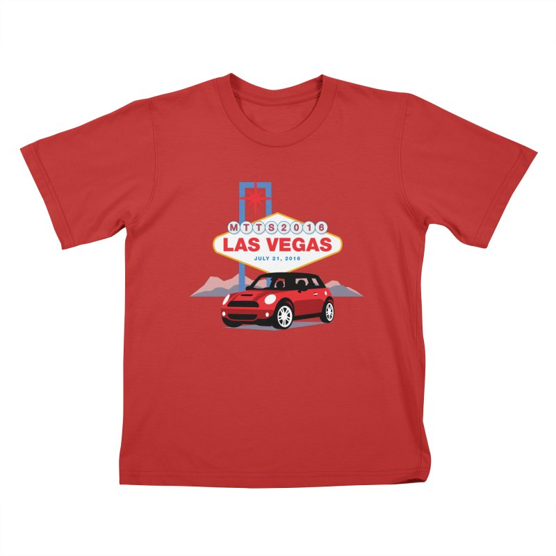 Las Vegas – MTTS 2016 Kids T-Shirt by TwistyMini Motoring Shirts