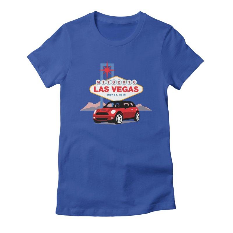 Las Vegas – MTTS 2016 Women's Fitted T-Shirt by TwistyMini Motoring Shirts