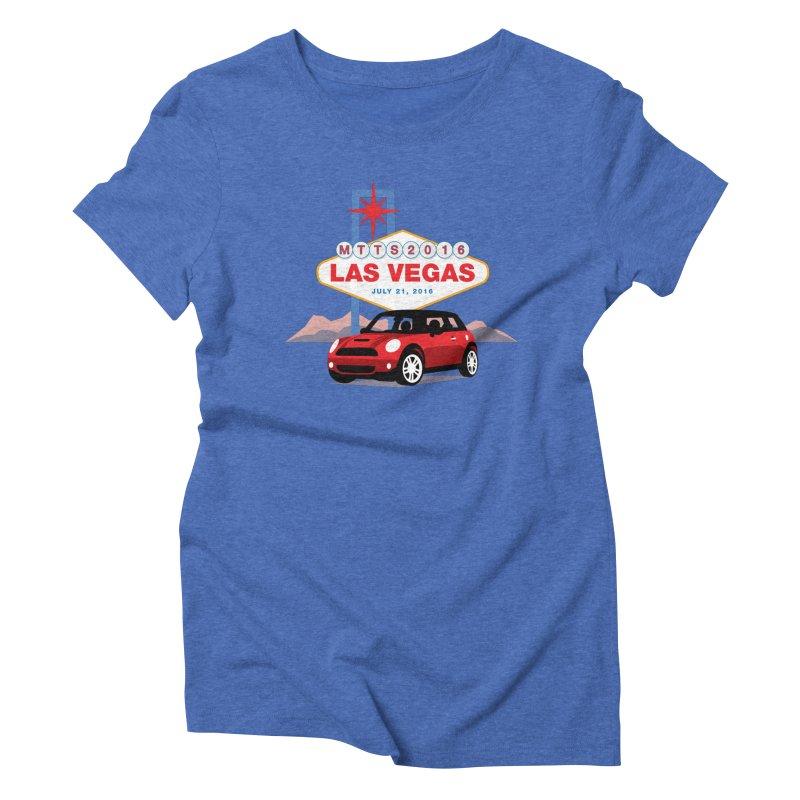 Las Vegas – MTTS 2016 Women's Triblend T-Shirt by TwistyMini Motoring Shirts