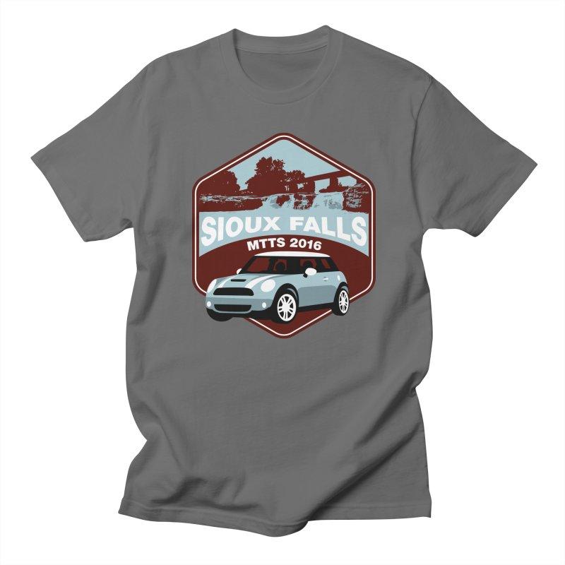 Sioux Falls – MTTS 2016 Men's T-Shirt by TwistyMini Motoring Shirts