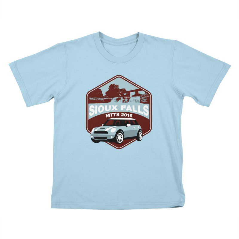 MTTS 2016 - Sioux Falls Kids T-Shirt by TwistyMini Motoring Shirts