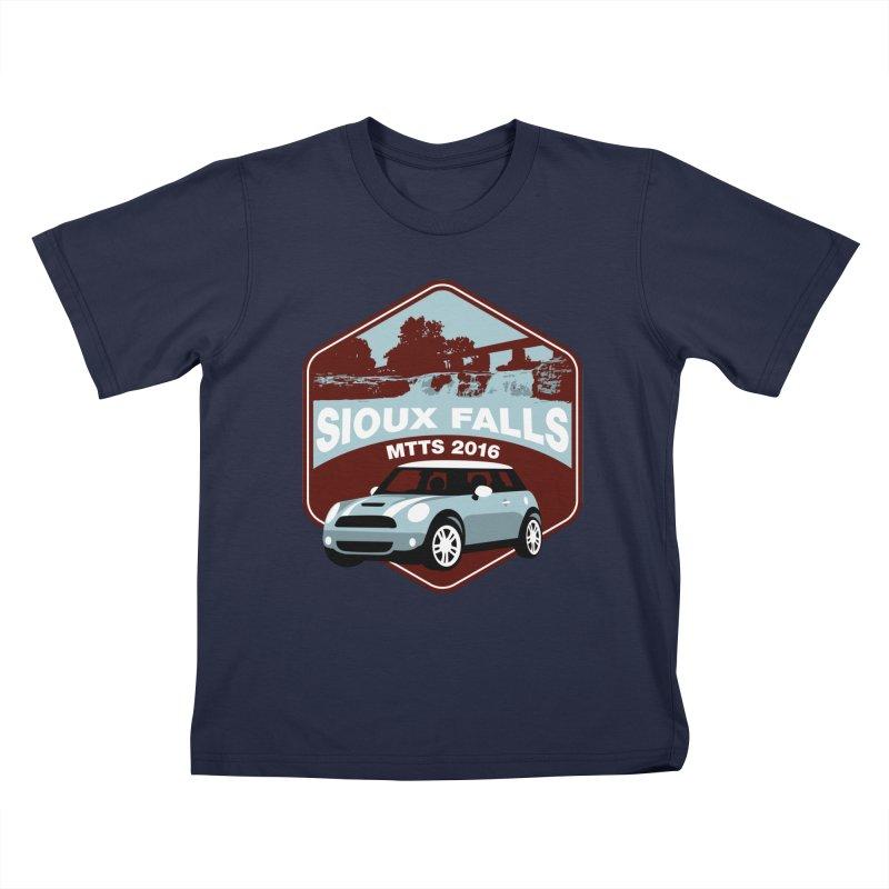 MTTS 2016 - Sioux Falls Kids T-Shirt by TwistyMini Motoring Shirts