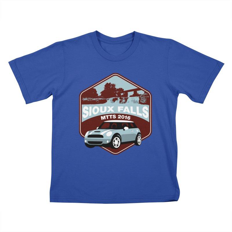 Sioux Falls – MTTS 2016 Kids T-Shirt by TwistyMini Motoring Shirts