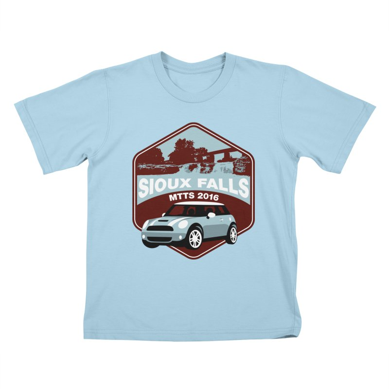 Sioux Falls – MTTS 2016 Kids T-Shirt by TwistyMini Motoring Shirts