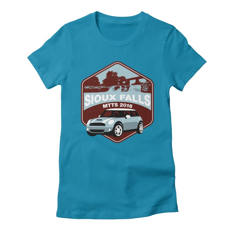 Sioux Falls – MTTS 2016 Women's Fitted T-Shirt by TwistyMini Motoring Shirts