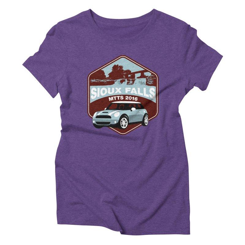 Sioux Falls – MTTS 2016 Women's Triblend T-Shirt by TwistyMini Motoring Shirts