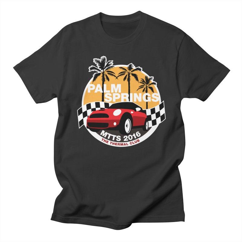 Palm Springs –MTTS 2016 Men's T-Shirt by TwistyMini Motoring Shirts