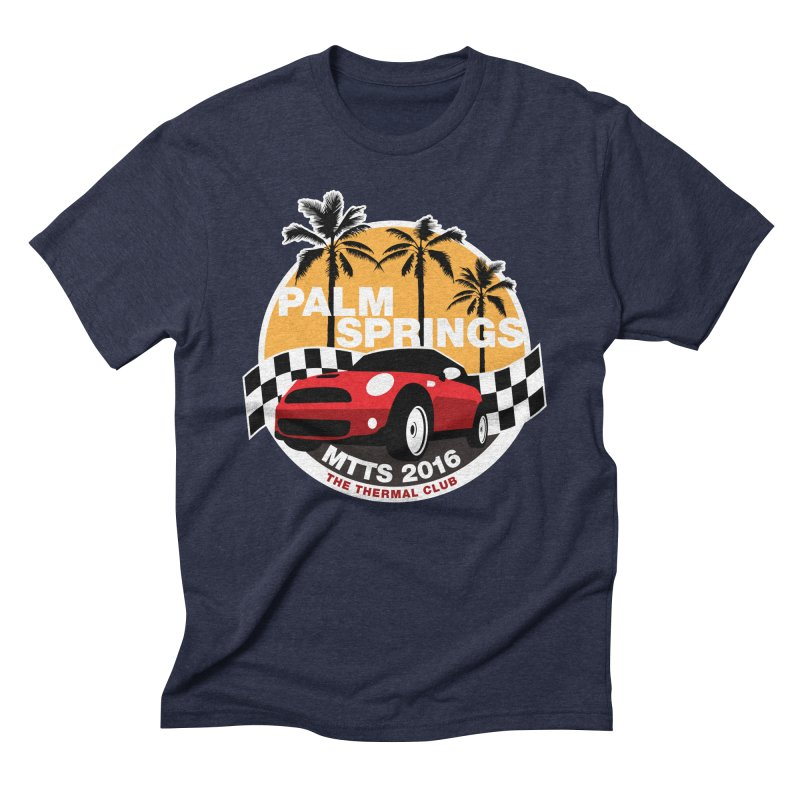 Palm Springs – MTTS 2016 Men's Triblend T-Shirt by TwistyMini Motoring Shirts