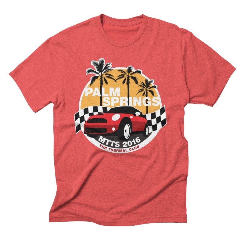 Palm Springs –MTTS 2016 Men's Triblend T-Shirt by TwistyMini Motoring Shirts
